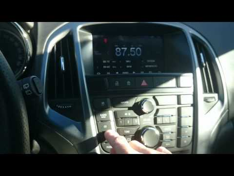 Astra H - Android Radio Headunit - Clock Settings