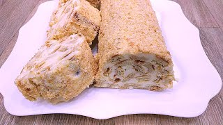 Торт из 3 ингредиентов лучше Наполеона Рецепт торта за 30 минут Простой быстрый и вкусный торт