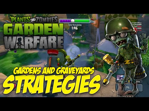 Gardens and Graveyards Strategies - Cactus Canyon (Plants vs Zombies: Garden Warfare)