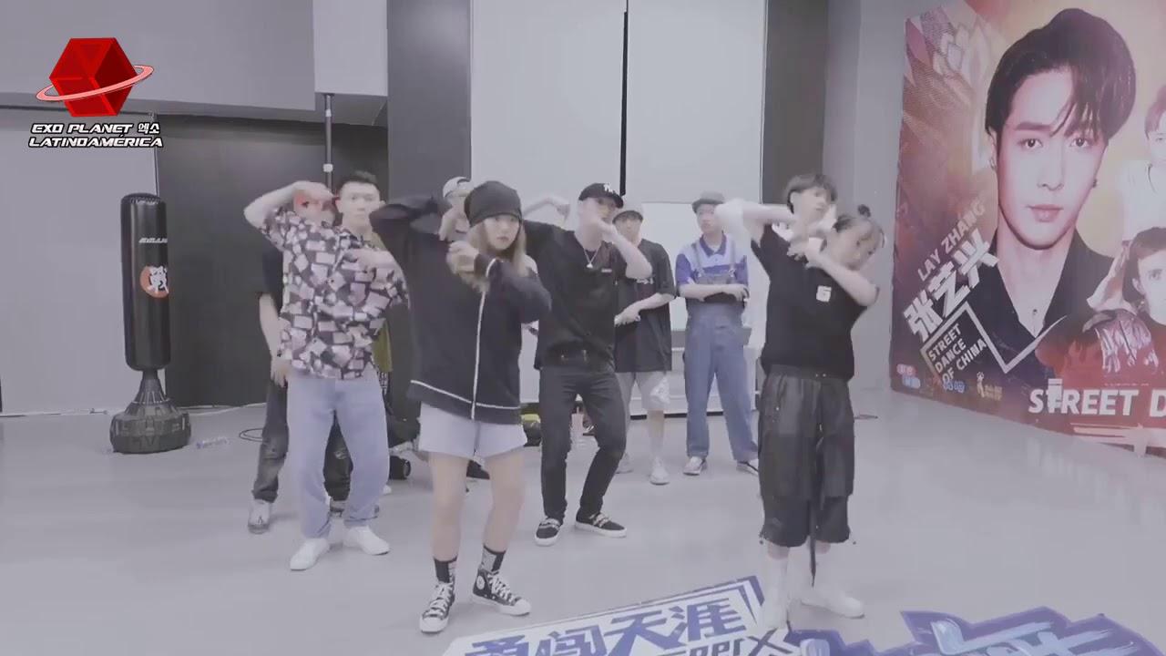 [SUB ESP] EXO #LAY - Routine Battle con Lit Dragon Team