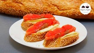 Малосольная красная рыба  Salted Red Fish
