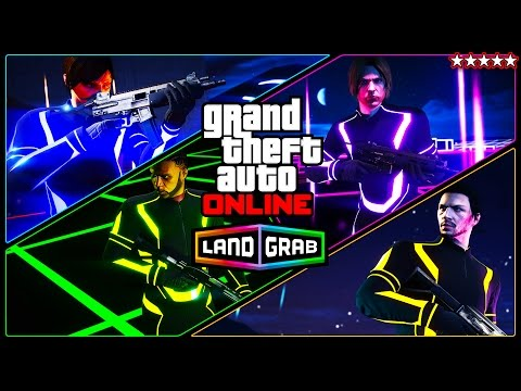 New LAND GRAB Adversary Mode In GTA 5 Online!! MAKING 2x The Money (GTA V Funny Moments)