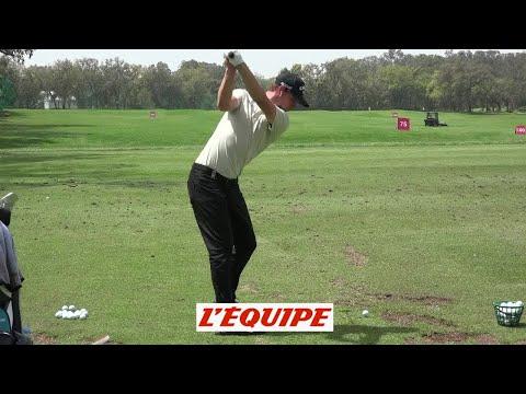 Thomas Pieters, la swing séquence - Golf - EPGA