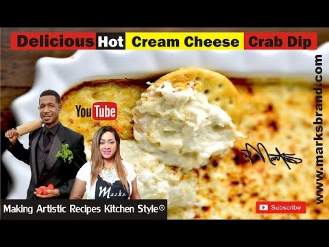WOW!! DELICIOUS HOT CREAM CHEESE CRAB DIP