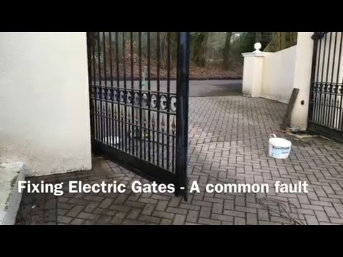Fixing Electric Gates - A Common Fault. (NICE ME3000)