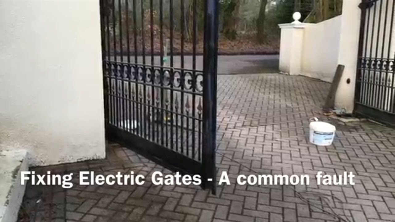 And Gate Wiring Diagram Fixing Electric Gates A Common Fault Nice Me3000