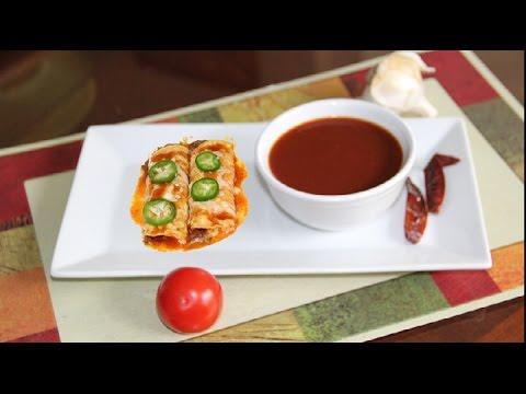 Homemade Enchilada Red Chile Sauce Video Recipe
