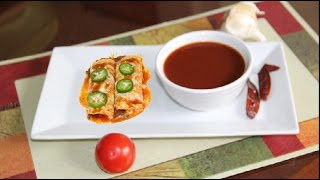 Homemade Enchilada Red Chile Sauce Video Recipe by Bhavna | Mexican Cuisine Recipes