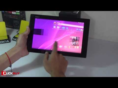 Đánh giá Sony Xperia Z2 Tablet - Clickbuy's channel