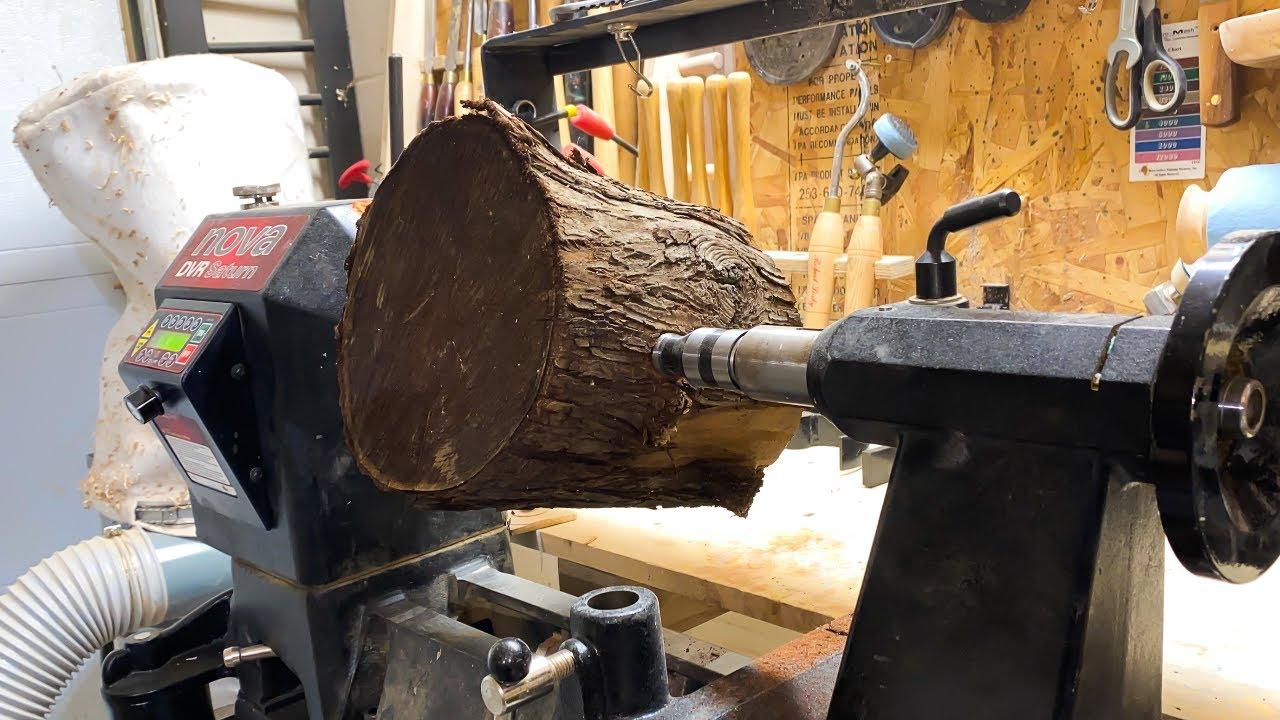 Woodturning - Olive wood