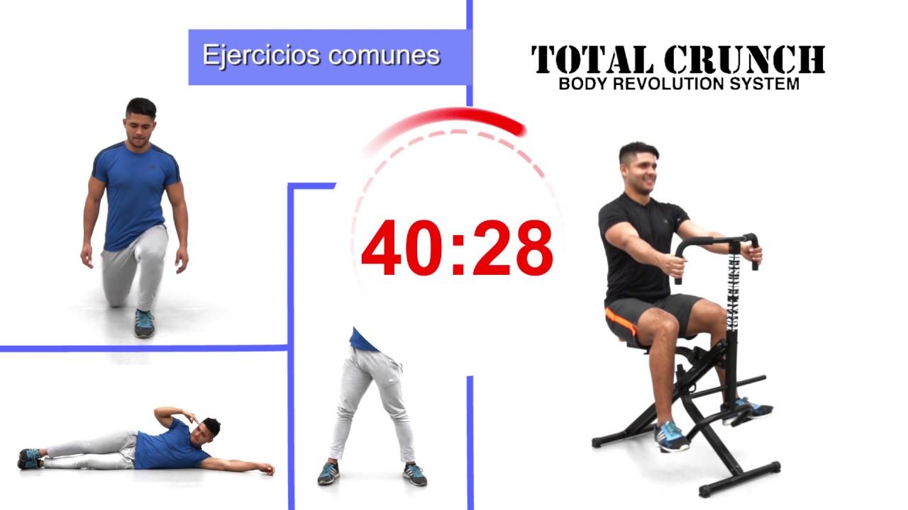 crunch ejercicio como hacer
