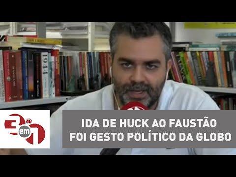 Planalto Diz Que Ida De Huck Ao Faustão Foi Gesto Político Da Globo