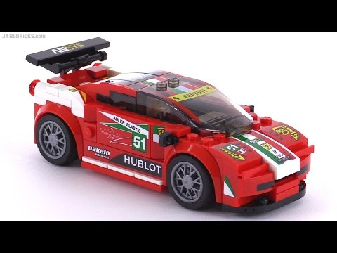 Lego Ferrari 458 Italia Gt2 Mild Mod Speed Champions