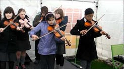 Govanhill Streetland Festival with Holy Cross Traditional Music Group.wmv