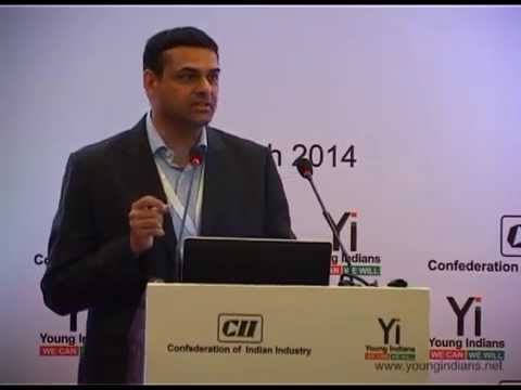 10th Yi National Summit @ New Delhi – 2014: Session with Mukund Rajan, Brand Custodian, Tata Group