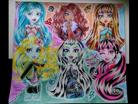 Рисунок Монстер Хай \\ Picture Monster High