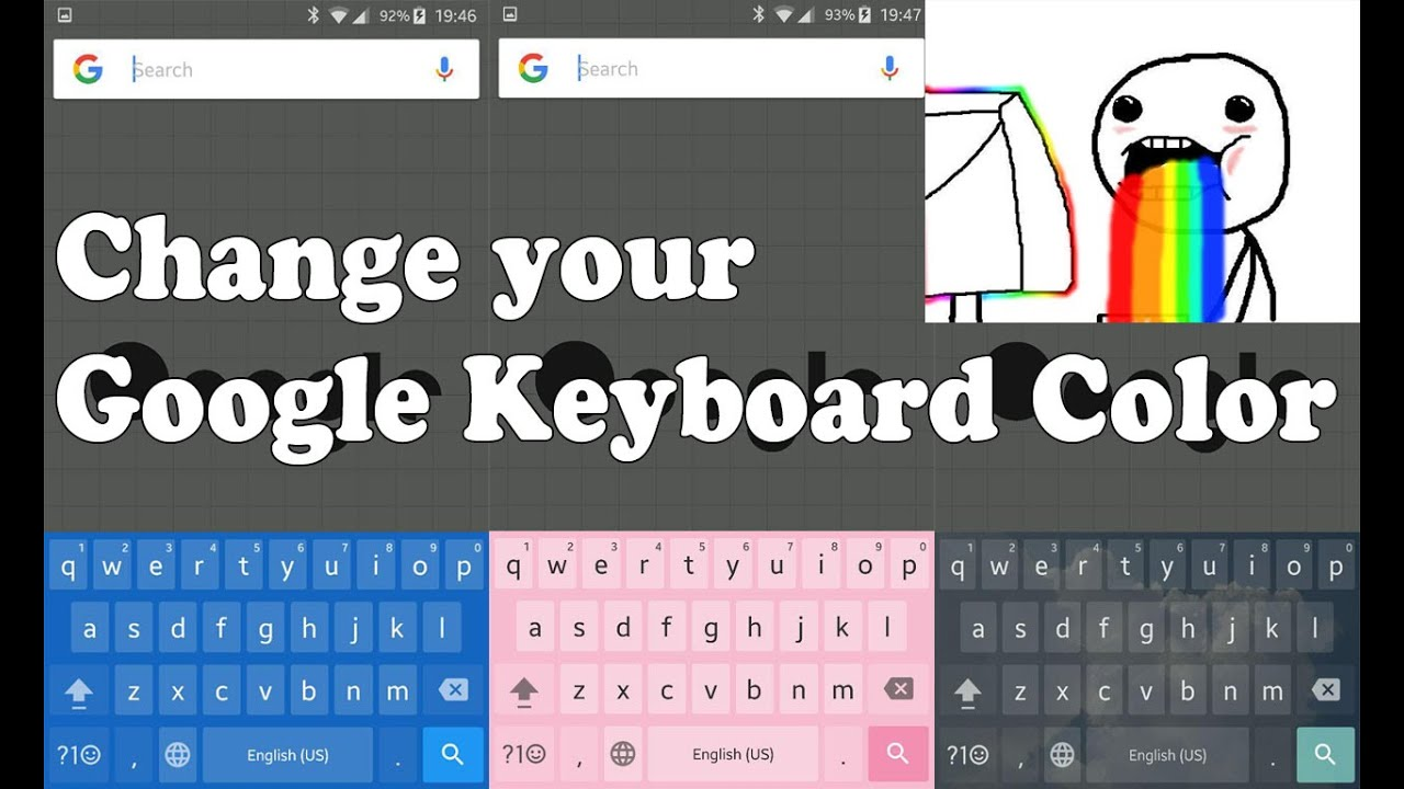 change google keyboard color and background - How To Change Samsung Keyboard Color