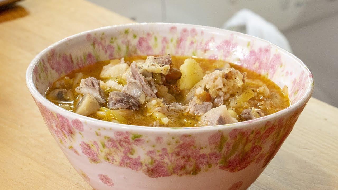 Домашний суп из семи... чтобы вы подумали?? Правильно... ингредиентов