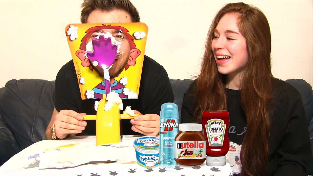 imaison  Hasbro  Pie Face  Le Jeu de la Chantilly Version Anglaise
