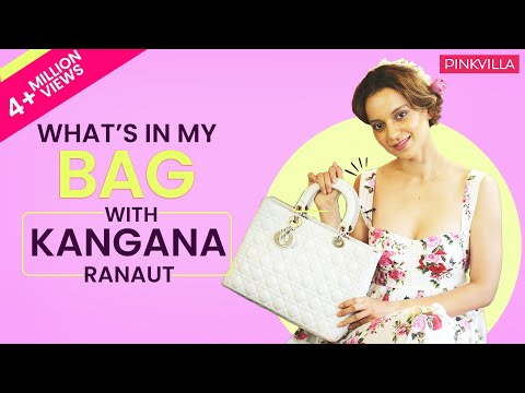 What's in my bag with Kangana Ranaut | S03E01 | Fashion | Pinkvilla | Bollywood