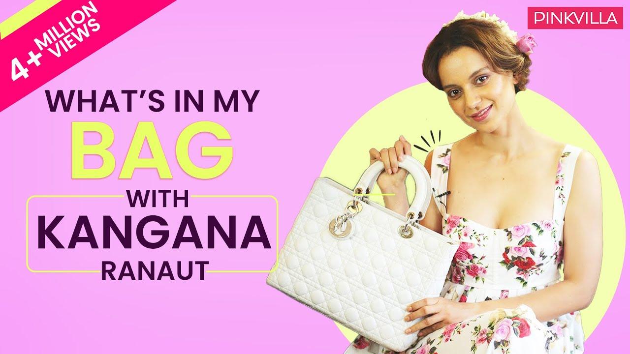 What's in my bag with Kangana Ranaut | S03E01 | Fashion | Pinkvilla | Bollywood