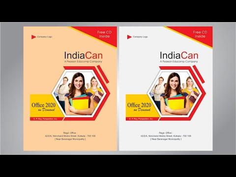 Book Cover Design in Coreldraw