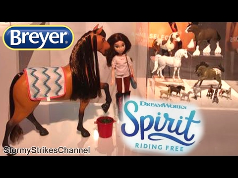 Spirit Riding Free ~ New Display Image Showing Breyer Toys