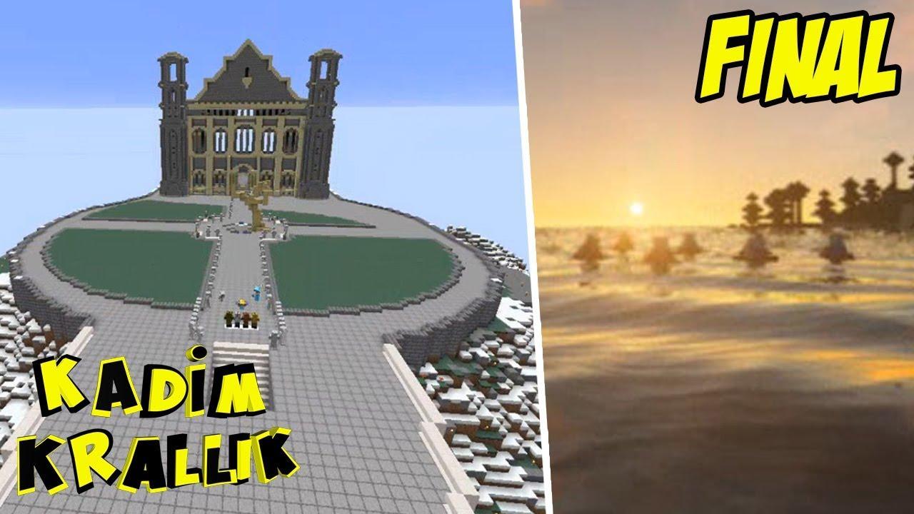 3 YILLIK SERİNİN EFSANE FİNALİ !!!   Minecraft: Kadim Krallık   Bölüm 233 (Final)