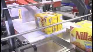 ARPAC BPMP Multipacker Multipacking boxes of cookies.