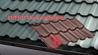 SUPRE Tile Installation