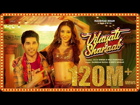 Vilayati Sharaab Official Video | Darshan R | Neeti M | Allu Sirish | Heli D | Lijo-Chetas | Kumaar