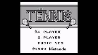 Tennis (Game Boy) - BGM 01: Title Theme