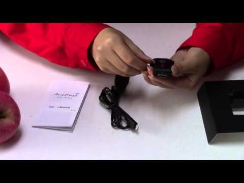 anycast cortex A9 1 2GHz 256M DDR free APP miracast airplay dongle unboxing video