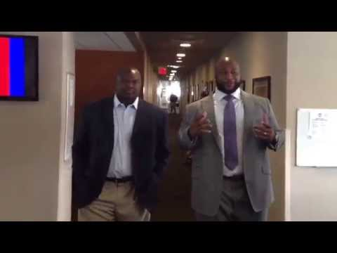 "Former LSU players Marcus Spears and Anthony ""Booger"" McFarland discuss joining the SEC Network."