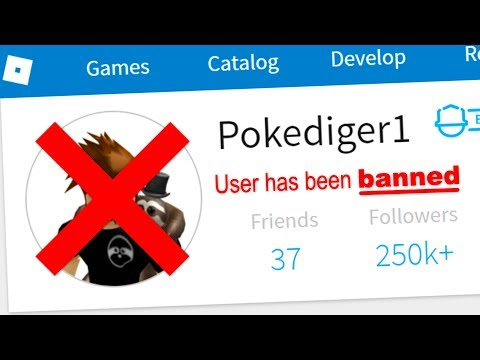 DID I GET POKE BANNED ON ROBLOX?