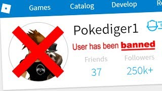 DID I GET POKE BANNED SUR ROBLOX?