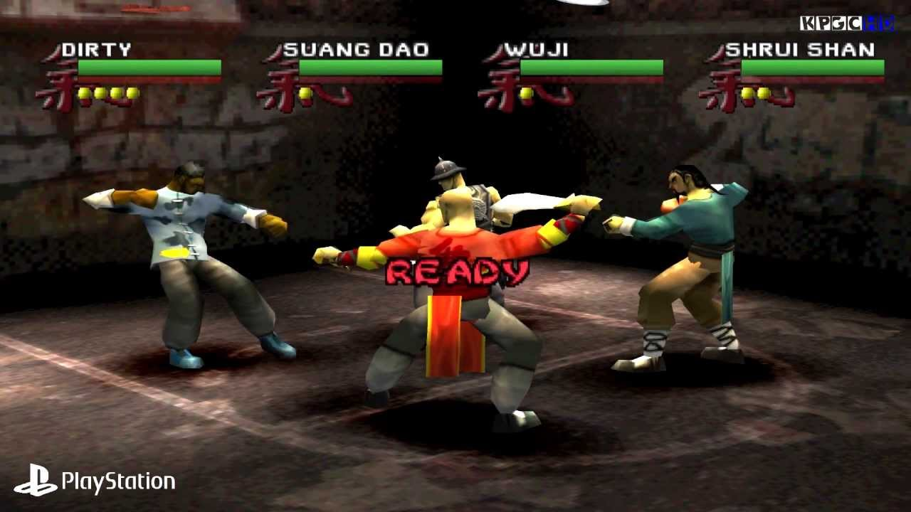 [PS1] Wu-Tang - Shaolin Style Gameplay with ePSXe (Full HD)[1080p] - YouTube