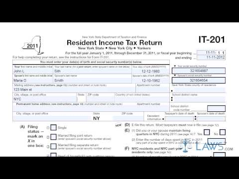 Where can you find IT-201 tax forms online?