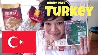 Emmy Eats Turkey - Tasting Turkish Treats & Sweets