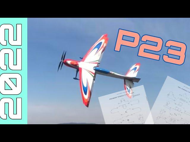 Season 2022 🗓 II F3A New P23 II Zeus by SebArt  🟢⚪️🔴