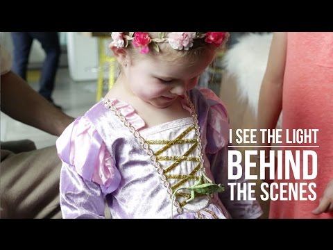 See The Light (Tangled) Behind The Scenes With Claire!
