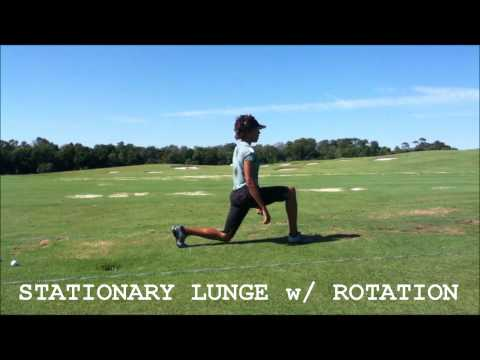 Golf Range Warm-Up: Legs + Lower Back