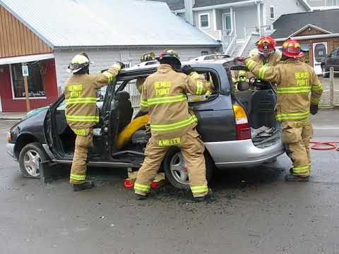 Bemus Point Fire Department Extrication Demo