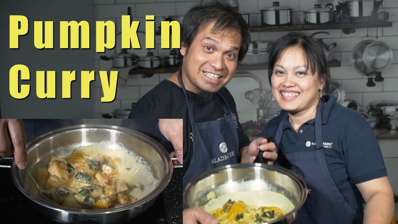 Easy Pumpkin Curry (Cooking with my HUSBAND)