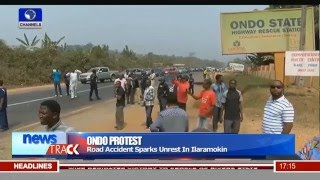 Protests In Ondo State Over Alleged Police Brutality 28/01/16