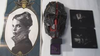 Розпакування Dishonored 2 Колекційне Видання (collector's Edition) UNBOX!