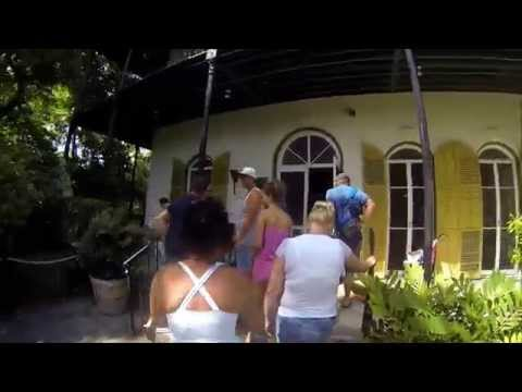 Key West-Ernest Hemingway House and Museum. A FloridaKeysXperienceImage