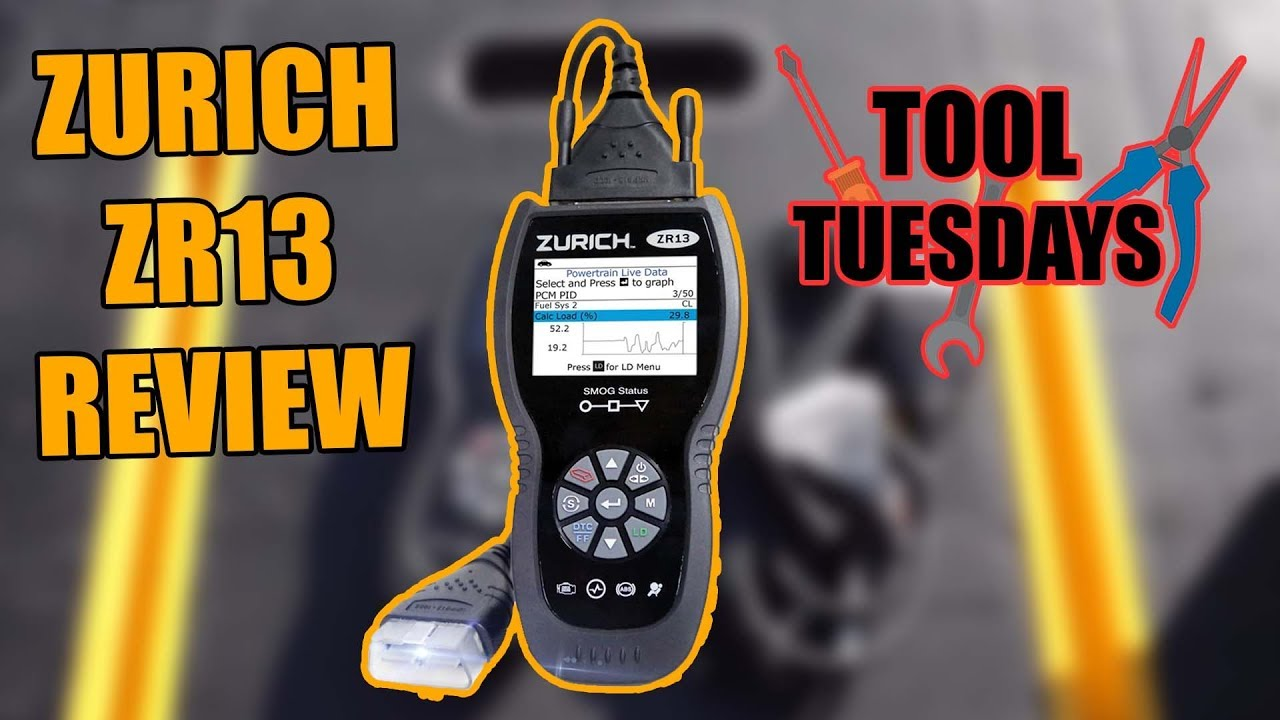 New Harbor Freight Scan Tool Review Zurich Zr13 Youtube Cadillac Bcm Stabilitrak Wiring Diagram