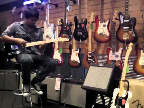 Rory Fender Tele Blacktop Demo