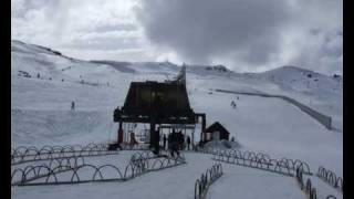 Nick Snow Skiing Cardrona New Zealand 2007